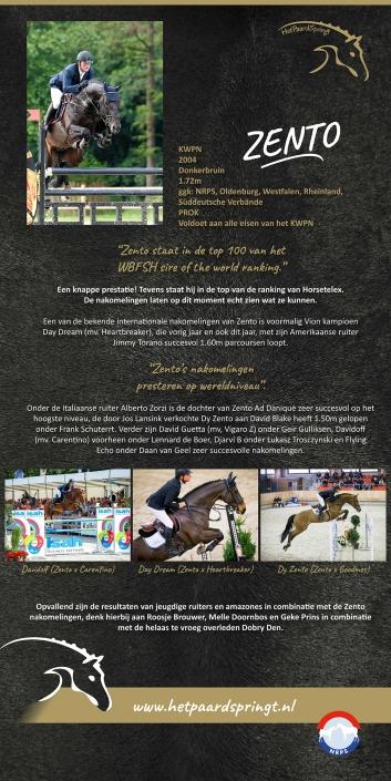 Rollup banner 'het paard springt'