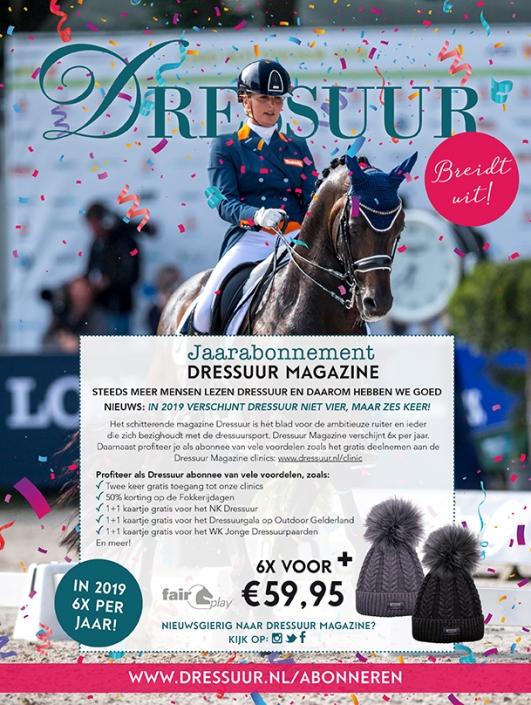 Marketingpagina Dressuurmagazine
