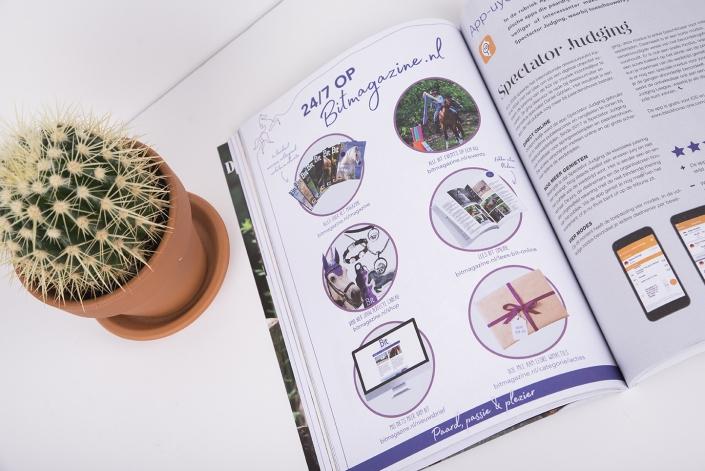 Bit magazine Marketingpagina